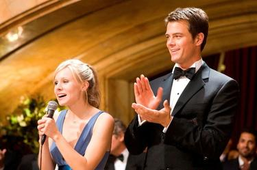 "Kristen Bell and Josh Duhamel in ""When in Rome."""
