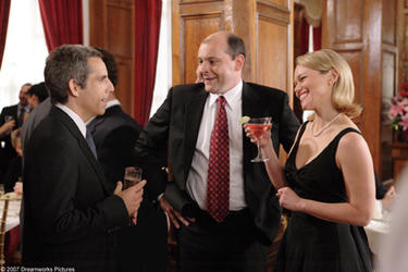 "Ben Stiller, Robert Corddry and Lauren Bowles in ""The Heartbreak Kid."""