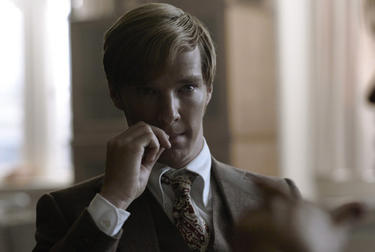 "Benedict Cumberbatch in ""Tinker Tailor Soldier Spy."""