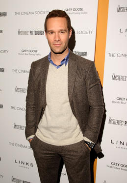 "Chris Diamantopoulos at the New York premiere of ""The Mysteries Of Pittsburgh."""