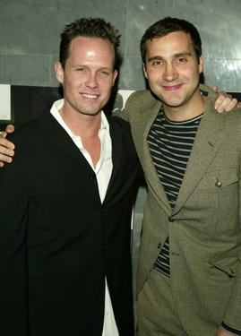"Dean Winters and Bruno Lastra at the premiere of ""Strip Search."""