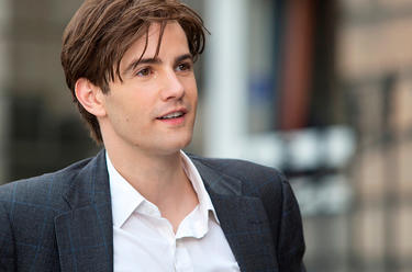 "Jim Sturgess as Dexter Mayhew in ""One Day."""