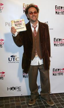 "John Kassir at the ""Every Monday Matters"" Book Signing party."