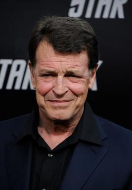 "John Noble at the premiere of ""Star Trek."""