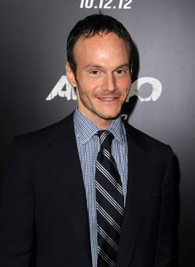 "Screenwriter Chris Terrio at the California premiere of ""Argo."""