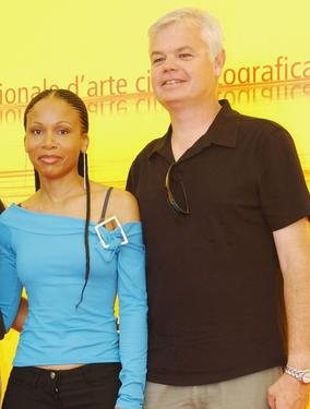 "Leleti Khumalo and Director Darell James Roodt at the photocall of ""Yesterday"" during the 61st Venice Film Festival."