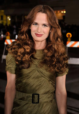 "Elizabeth Reaser at the L.A. premiere of ""Twilight."""