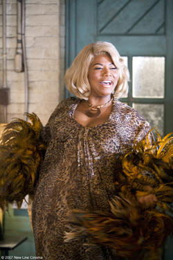 "Queen Latifah as Motormouth Maybelle in ""Hairspray."""