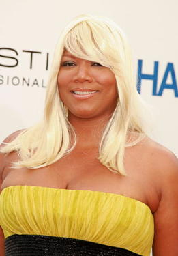 """Hairspray"" star Queen Latifah at the L.A. premiere."