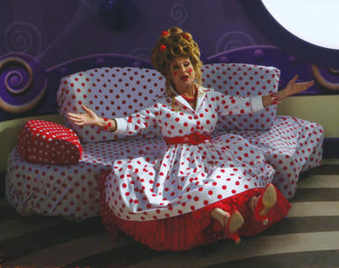 "Cloris Leachman in ""The Oogieloves in the Big Balloon Adventure."""
