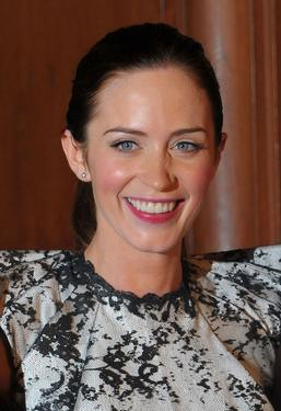 "Emily Blunt at the California premiere of ""The Young Victoria."""