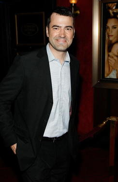 "Ron Livingston at the New York premiere of ""The Time Traveler's Wife."""
