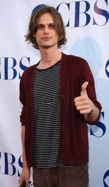 Matthew Gray Gubler at the CBS Summer Stars Party 2007.