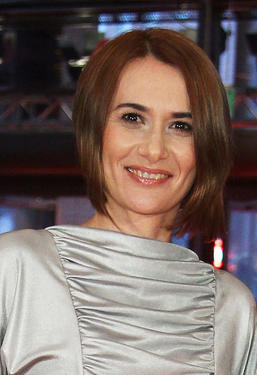 "Clara Voda at the Berlin premiere of ""Eu Cand Vreau Sa Fluier, Fluier"" during the 60th Berlin Film Festival."