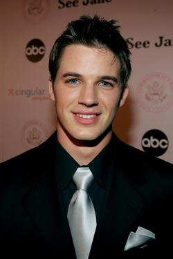 "Matt Lanter at the inaugural ball and premiere of ""Commander-in-Chief."""