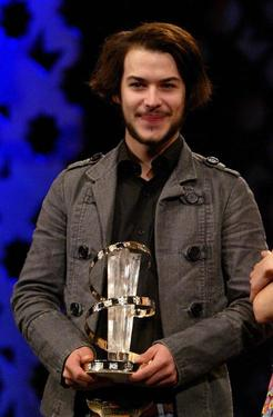 Marc-Andre Grondin at the 35th Cesar Film Awards 2010.