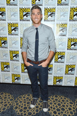 "Dave Annable at the ""666 Park Avenue"" Press Room during the Comic-Con International 2012 in California."