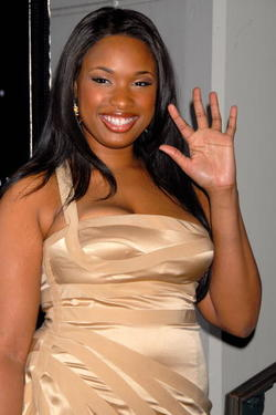 Jennifer Hudson at the Rodeo Drive Walk Of Style Awards.