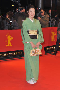 "Shinobu Terajima at the premiere of ""The Kids Are All Right"" during the 60th Berlin Film Festival."