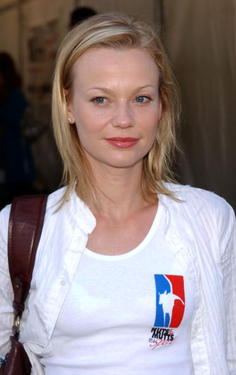 "Samantha Mathis at the 4th Annual ""Nuts For Mutts"" dog show with the following pet adoption."