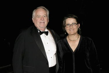 Dakin Matthews and Anne McNaughton at the 49th Annual Drama Desk Awards.