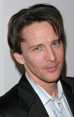 "Andrew McCarthy at the after party for the play opening of ""Fat Pig""."