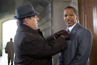 "Bruce McGill and Jamie Foxx in ""Law Abiding Citizen."""