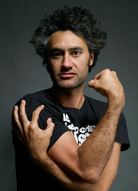 "Taika Waititi at the portrait session of ""Boy"" during the 2010 Sundance Film Festival."