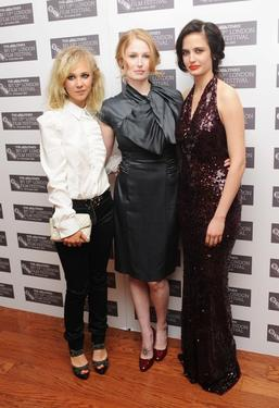 "Juno Temple, Jordan Scott and Eva Green at the premiere of ""Cracks"" during the Times BFI 53rd London Film Festival."