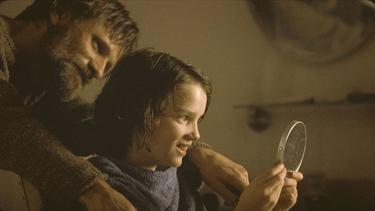 "Viggo Mortensen and Kodi Smit-McPhee in ""The Road."""