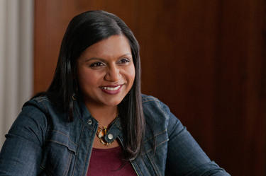 "Mindy Kaling in ""The Five-Year Engagement."""