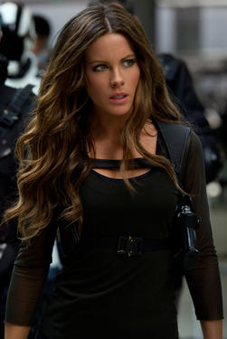 "Kate Beckinsale in ""Total Recall."""