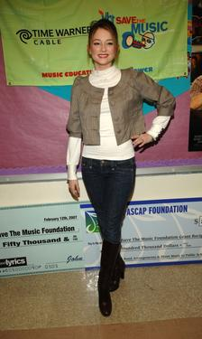 Haley Bennett at the VH1 Save the Music Foundation.