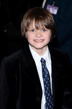 "Actor Charlie Tahan at the N.Y. premiere of ""I Am Legend."""