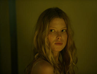 "Emma Booth in ""Introducing the Dwights."""