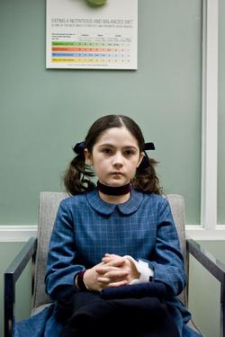 "Isabelle Fuhrman as Esther in ""Orphan."""