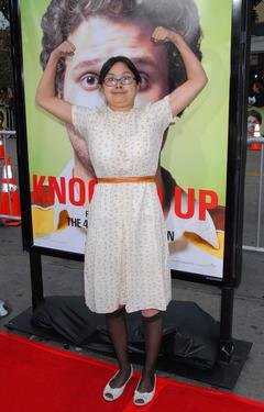"Charlyne Yi at the premiere of ""Knocked Up."""