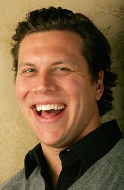 Hayes MacArthur at the 2007 Slamdance Film Festival.