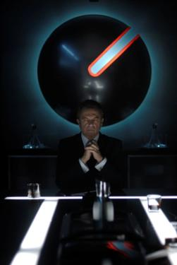 "Sam Neill as Charles Bromley in ""Daybreakers."""