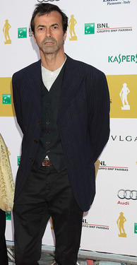 Andrea Occhipinti at the 2011 Premi David di Donatello Italian Academy Awards in Italy.