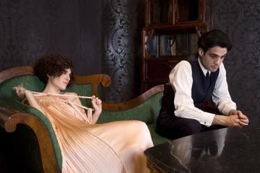 "Marina Gatell as Magdalena and Javier Beltran as Federico Garcia Lorca in ""Little Ashes."""