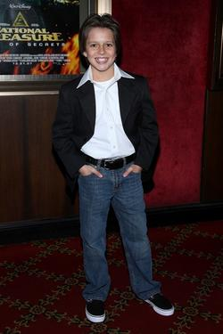 "Billy Unger at the premiere of ""National Treasure: Book of Secrets."""
