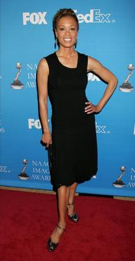 Valarie Pettiford at the 37th NAACP Image Awards' Nominee Luncheon.