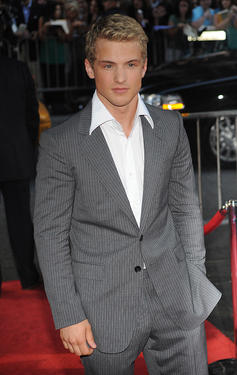 "Freddie Stroma at the New York premiere of ""Harry Potter and the Half-Blood Prince."""