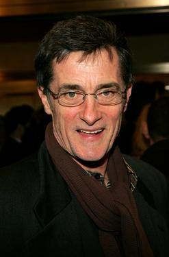 "Roger Rees at the New York opening night of ""Night, Mother."""