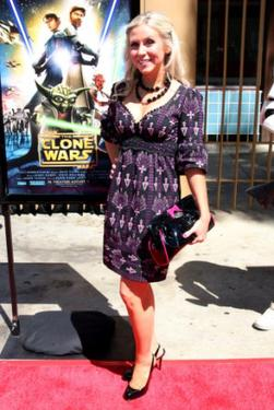 "Ashley Eckstein at the premiere of ""Star Wars: The Clone Wars."""
