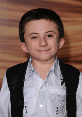 "Atticus Shaffer at the premiere of ""Tangled."""