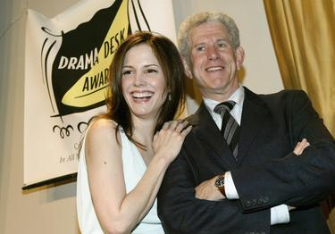 Tony Roberts and Mary-Louise Parker at the 49th annual Drama Desk Awards.