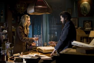 "Alison Lohman and Dileep Rao in ""Drag Me to Hell."""