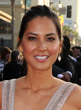 "Olivia Munn at the world premiere of ""Iron Man 2."""